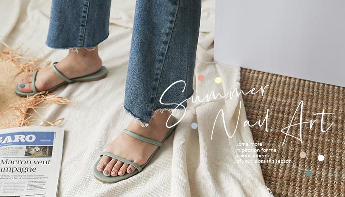 夏天就是要穿涼鞋!3種今夏最百搭的指甲彩繪樣式一定要學起來