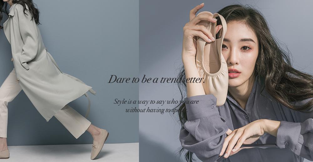 D+AF 2020春夏流行女鞋 春夏鞋款推薦 樂福鞋 後空鞋