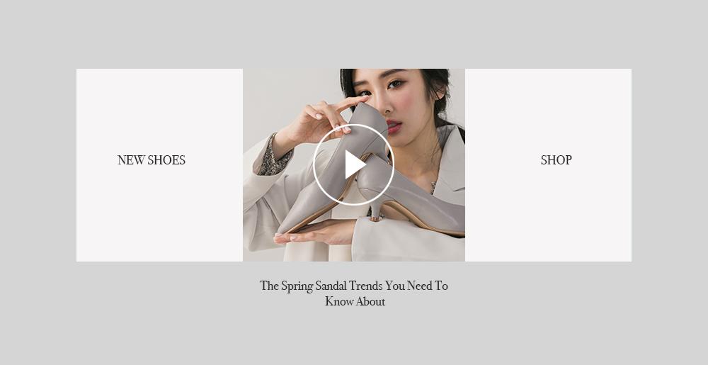 D+AF – YouTube春夏新款女鞋
