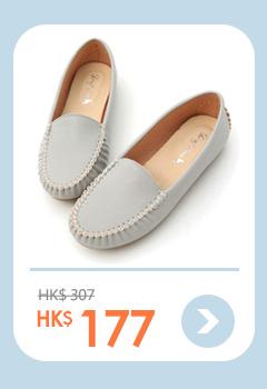 舒適首選.MIT素面莫卡辛豆豆鞋