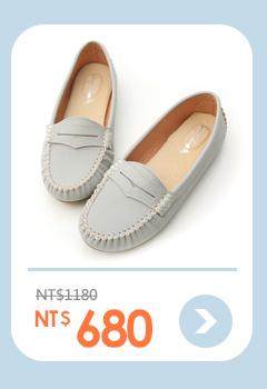 悠活主張.MIT舒適莫卡辛豆豆鞋