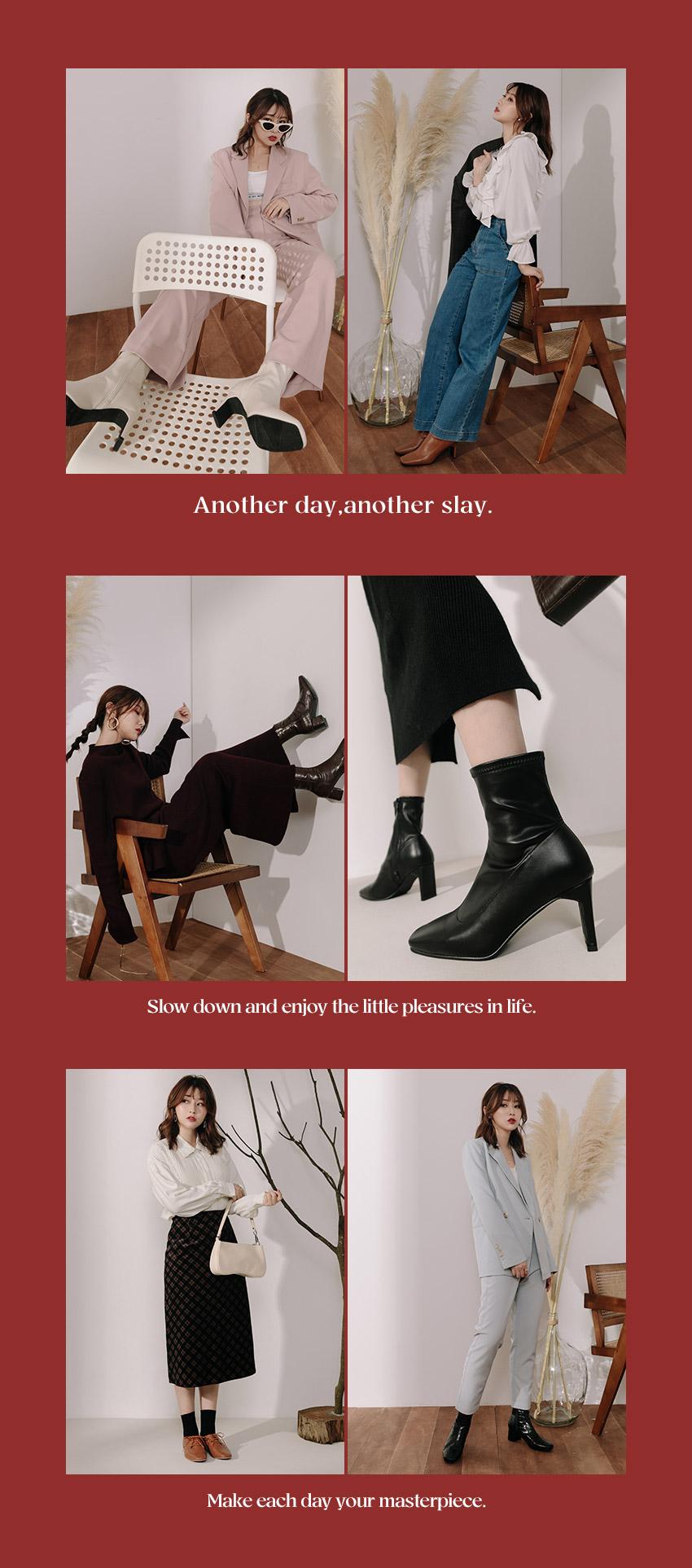 Miss Crazy到處都是瘋女人聯名鞋款 短靴 襪靴 牛津鞋