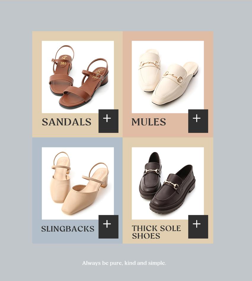 D+AF女鞋新品上市 涼鞋 穆勒鞋 後空鞋 厚底鬆糕鞋