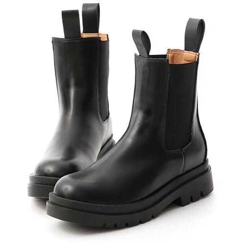 獨領風潮.加厚鞋底切爾西短靴