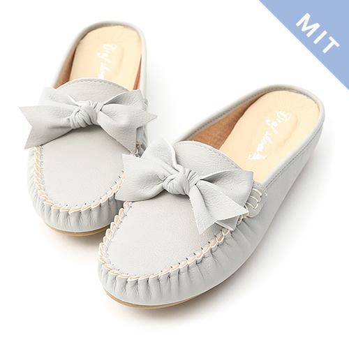 D+AF 甜美日常.MIT蝴蝶結豆豆穆勒鞋
