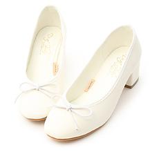 D+AF 輕漾甜美.小蝴蝶中跟芭蕾娃娃鞋