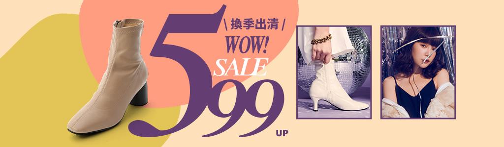 美鞋出清.下殺$599起,拖鞋、涼鞋、跟鞋、包鞋、各式女鞋盡在D+AF官方購物網站。