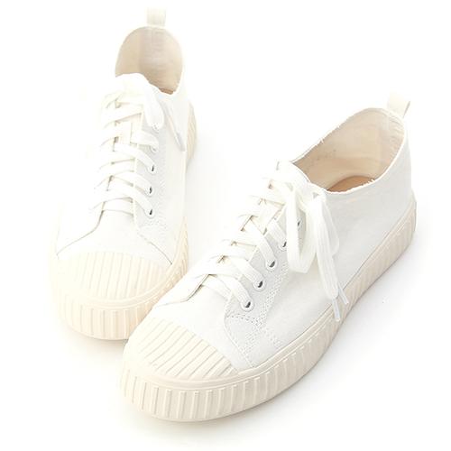 D+AF 玩酷魅力.加厚底綁帶馬汀長靴