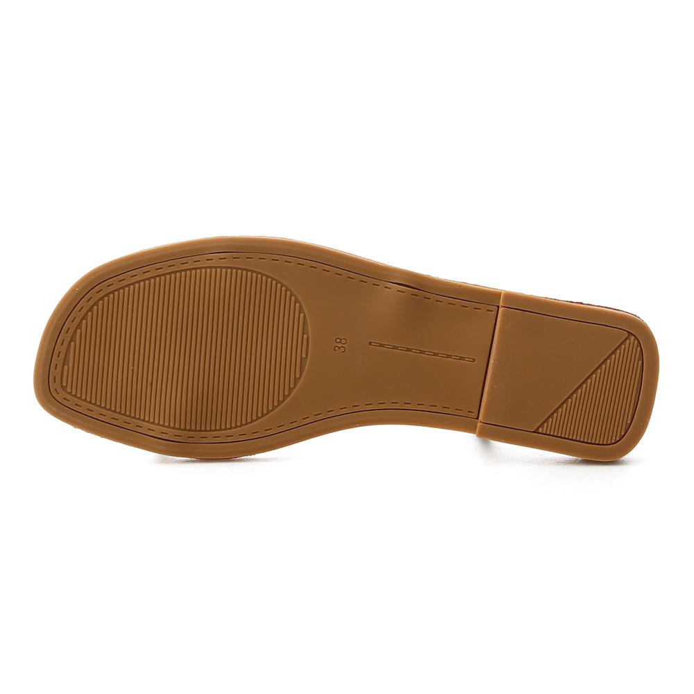 Buckle Thin Strap Sandals Black