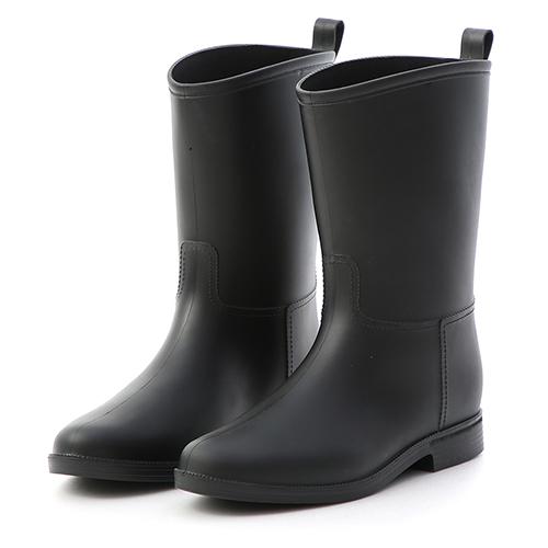 D+AF 悠遊雨天.素面百搭中筒雨靴