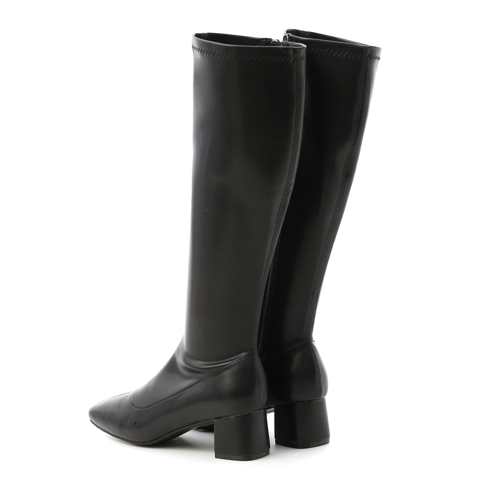 Classic Fitting High Boots Black