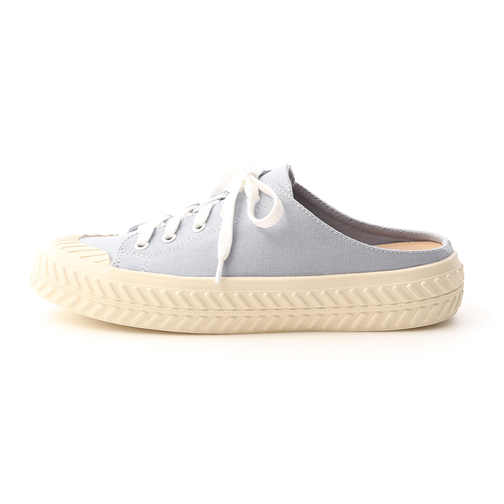 Canvas Mules Sneakers Serenity Blue