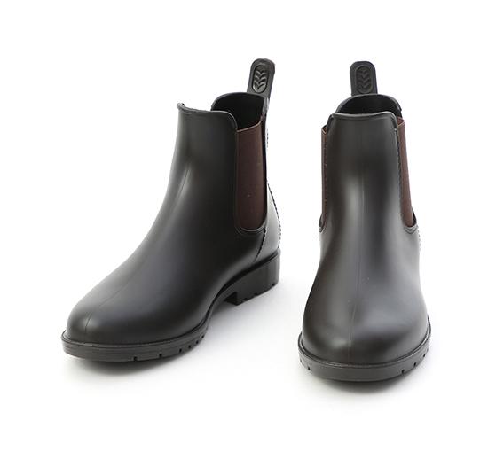Chelsea Rain Boots Brown